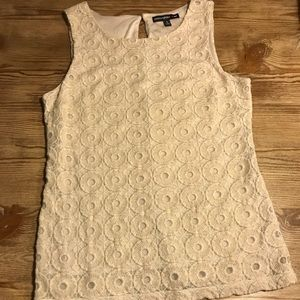 Banana Republic Collection Lace Shell S
